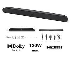 Звукова панель TCL TS6100 2.0, 120W, Dolby Digital, HDMI ARC, Wireless
