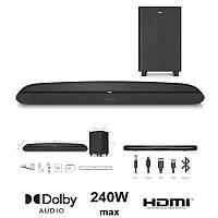 Звукова панель TCL TS6110 2.1, 240W, Dolby Digital, HDMI ARC, Wireless Sub