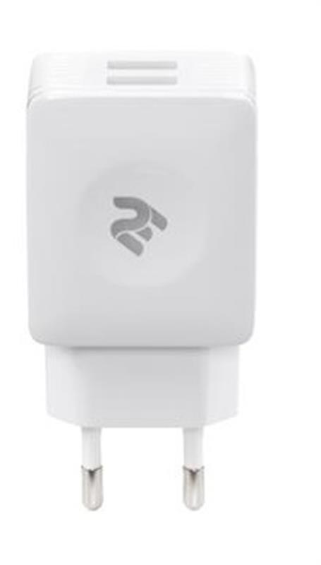 Сетевое зарядное устройство 2E (2USB 2.1A) White (2E-WC4USB-W)