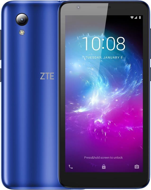 """Смартфон ZTE Blade L8 Dual Sim Blue; 5"""" (960х480) IPS / Unisoc SC9863A / ОЗУ 1 ГБ / 16 ГБ встроенной + microSD"""