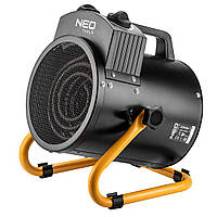 Обігрівач теплова гармата NEO TOOLS 2 кВт, регулювання, нерж. сталь, IPX4, потік повітря - 330 м3 / рік