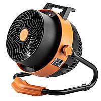 Обігрівач-вентилятор NEO TOOLS, 2 в 1, 2400 Вт, ручна модель, потік повітря - 460 м3 / рік
