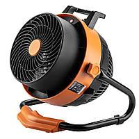 Обігрівач-вентилятор NEO TOOLS, 2 в 1, 2400 Вт, цифрова модель, потік повітря - 460 м3 / рік