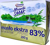 Масло сливочное 83% Maslo Extra 200г, Польша