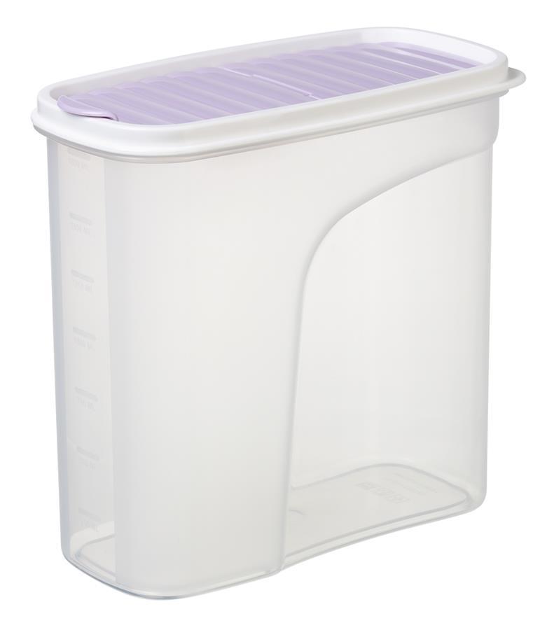 Контейнер для сипучих Ardesto Fresh 1.8 л, ліловий, пластик
