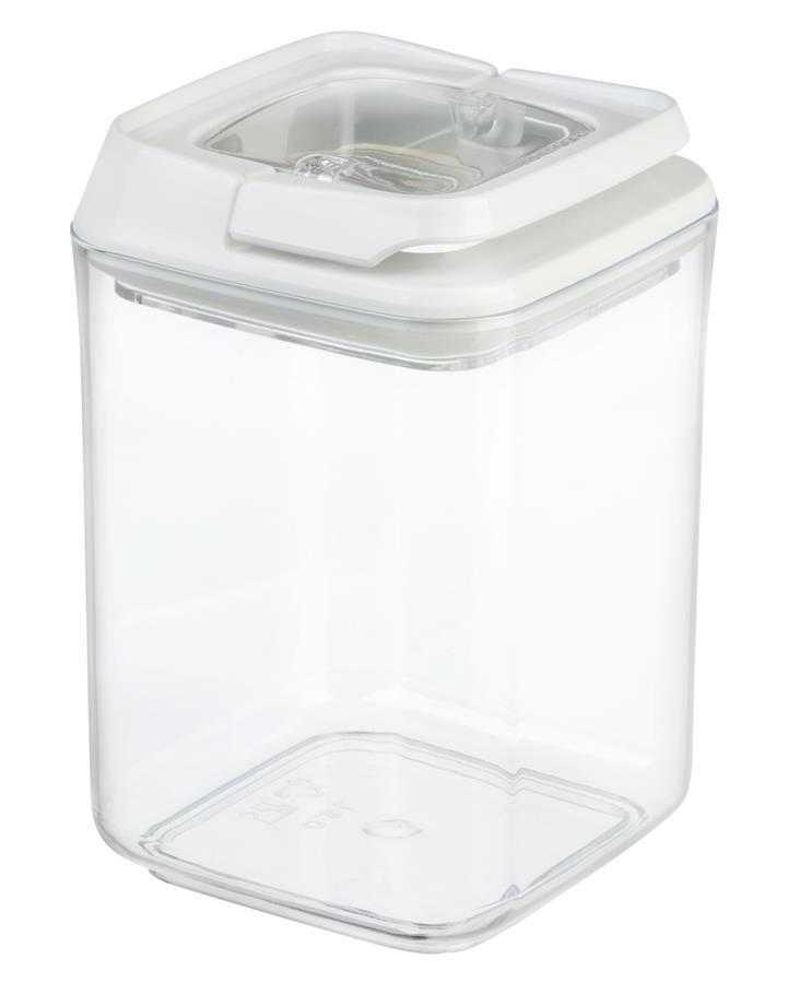 Контейнер для сипучих Ardesto Fresh , 0.9 л, білий, пластик