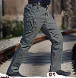 Брюки тактические ESDY IX9 стрейчевые коттон черные, фото 3