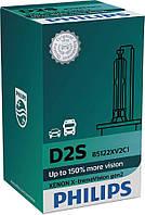 Лампа ксенонова Philips D2S X-tremeVision +150%, 4800K gen2, 1шт/картон