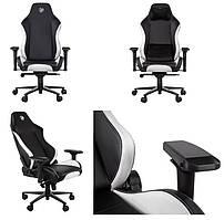Ігрове крісло 2E GC24 Black/White