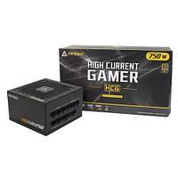 Блок живлення Antec HCG750 Gold (750W) 80+ GOLD, aPFC, 12см,24+8,8*SATA,4*PCIe,+3,модульний