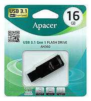 Накопичувач Apacer 16GB USB 3.1 AH360 Ashy