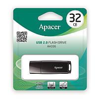Накопичувач Apacer 32GB USB 2.0 AH336 Black