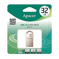 Накопичувач Apacer 32GB USB 2.0 AH117 Silver