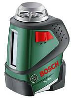 Нівелір BOSCH PLL 360 лазерний із прямими та хрестоподібними лініями