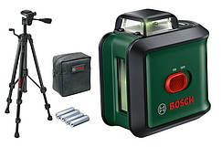 Нівелір лазерний Bosch UniversalLevel 360 Set, 24м, штатив TT150, зелений промінь