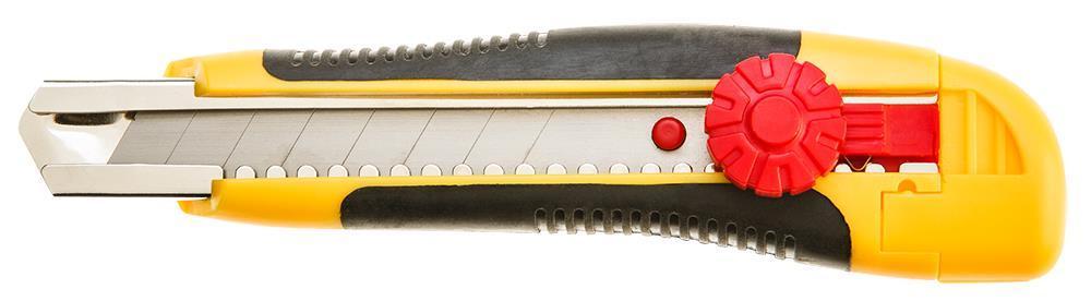Ніж TOPEX з лезом, що відламується, 18 мм, фіксатор