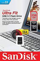 Накопичувач SanDisk 256GB USB 3.1 Ultra Fit