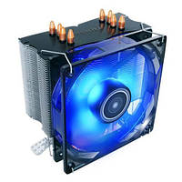 Процесорний кулер Antec C400 Blue LED,775,1150(1),55(6),1366,2011(66),FM1(2),AM3(+)AM2(+)AM4,120мм
