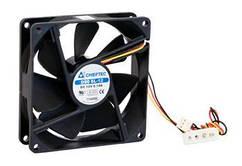 Корпусний вентилятор CHIEFTEC Thermal Killer AF-0925S,90мм,1800 об/хв,3pin/Molex,24dBa