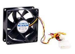 Корпусний вентилятор CHIEFTEC Thermal Killer AF-0825S,80мм,2000 об/хв,3pin/Molex,26dBa