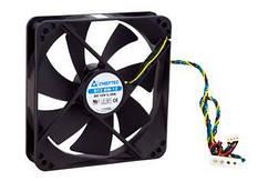 Корпусний вентилятор CHIEFTEC Thermal Killer AF-1225PWM,120мм,1650 об/хв,4pin PWM/Molex,31dBa