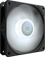Корпусний вентилятор Cooler Master SickleFlow 120 White LED,120мм,650-1800об/хв,Single pack w/o HUB