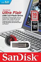 Накопичувач SanDisk 16GB USB 3.0 Flair R130MB/s