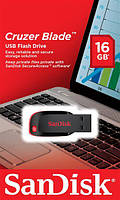 Накопичувач SanDisk 16GB USB Cruzer Blade