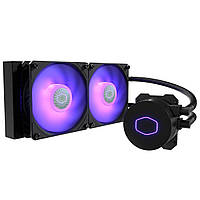 Система рідинного охолодження Cooler Master MasterLiquid ML240L V2 RGB LGA2066/2011-V3/1200/115x/AM4/AM3