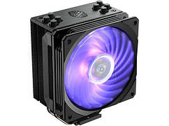 Процесорний кулер Cooler Master Hyper 212 RGB Black Edition LGA2066/1200/115x/AM4/FM2(+)/AM3(+) PWM