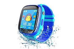 Дитячий GPS годинник-телефон GOGPS ME K14 Синій