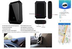 Автономний автомобільний трекер GOGPS А10 чорний