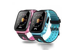 Дитячий GPS годинник-телефон GOGPS ME K13 Синій