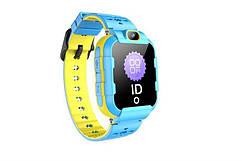 Дитячий GPS годинник-телефон GOGPS ME K22 Сині