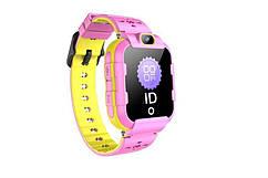 Дитячий GPS годинник-телефон GOGPS ME K22 Рожеві
