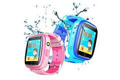 Дитячий GPS годинник-телефон GOGPS ME K14 Рожевий