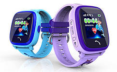 Дитячий GPS годинник-телефон GOGPS ME K25 Синій