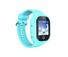 Дитячий GPS годинник-телефон GOGPS ME К26 Синій