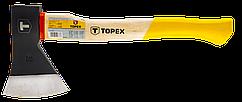 Сокира TOPEX 600 г, дерев'яна яна рукоятка