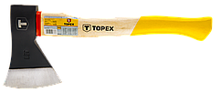 Сокира TOPEX 1000 г, дерев'яна яна рукоятка