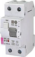 Дифференційний автоматичний вимикач ETI KZS-2M B 16/0,03 тип AC (10kA)