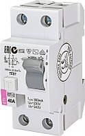 Диференційне Реле ETI (УЗО) EFI-2 40/0,3 тип AC (10kA)