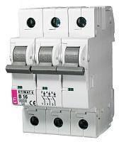 Автоматичний вимикач ETI, ETIMAT 6 3p C 25А (6 kA)