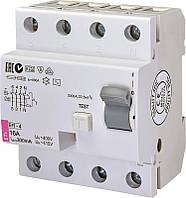 Диференційне Реле ETI (УЗО) EFI-4 AC 16/0.3 тип AC (10kA)