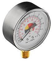 """Манометр стисненого повітря NEO, 60 мм, 1/4"""""""