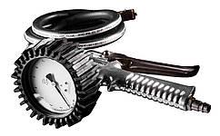 Пістолет NEO для підкачування шин з манометром O 80мм, 12 bar, 200 l/min