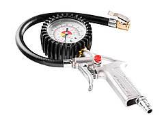 Пістолет NEO для підкачування шин з манометром O 63мм