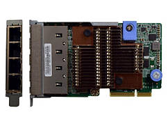 Мережевий адаптер Lenovo ThinkSystem 1Gb 4-port RJ45 LOM