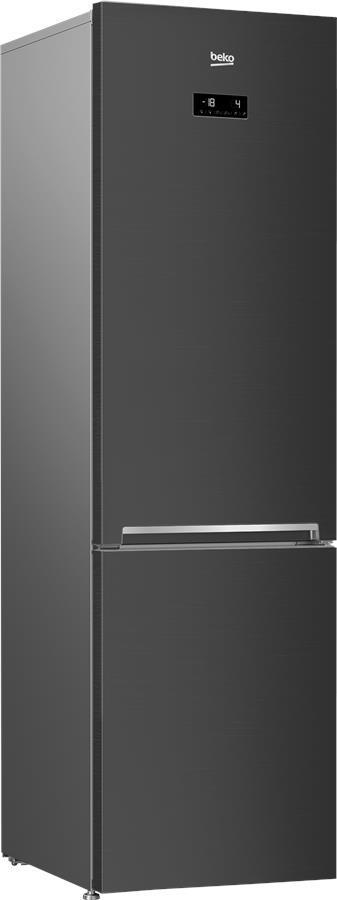 Холодильник Beko RCNA406E35ZXBR з ниж. мороз. кам. - 203x60x66/362 л/No-frost/HarvestFresh/А++/нерж. сталь
