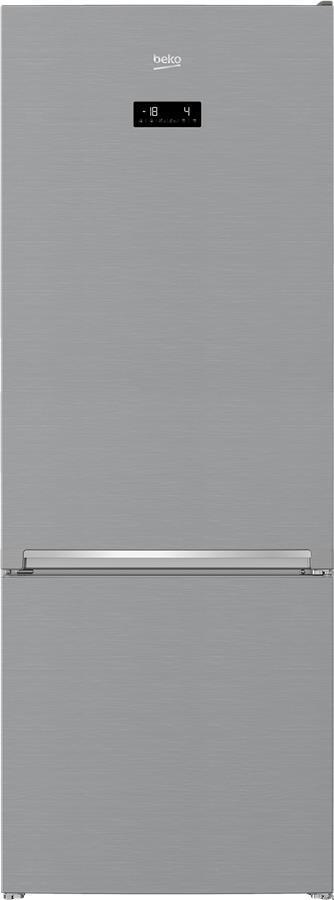 Холодильник Beko RCNE560E35ZXB з ниж. мороз. кам. - 192x70x75см/501 л/No-frost/HarvestFresh/А++/нерж сталь